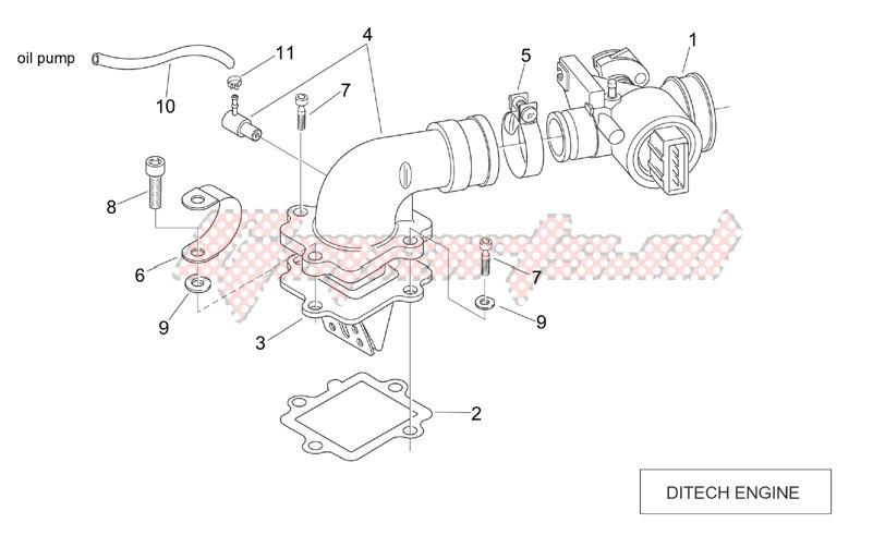 Throttle body (Ditech) image