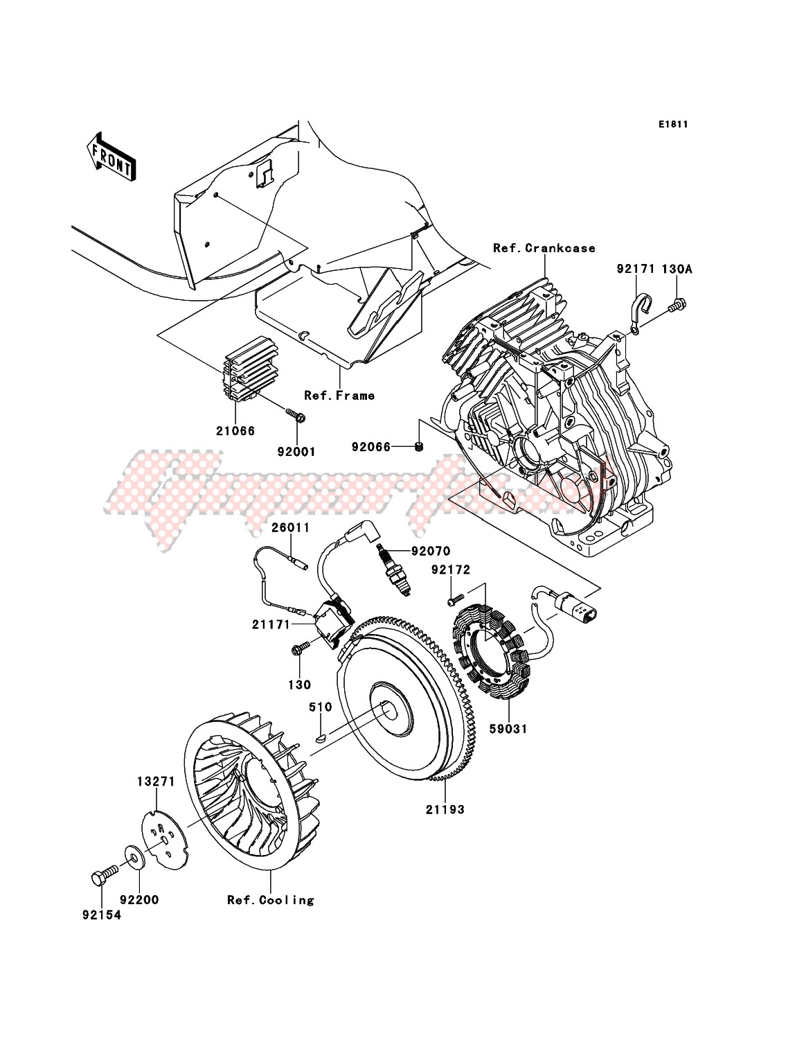 Engine-Generator/Ignition Coil
