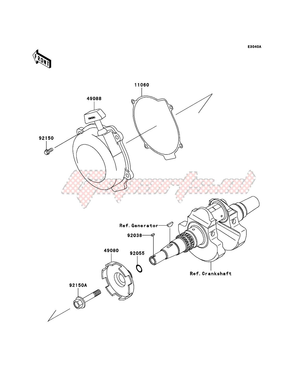 Recoil Starter(VF650AE640352-) image