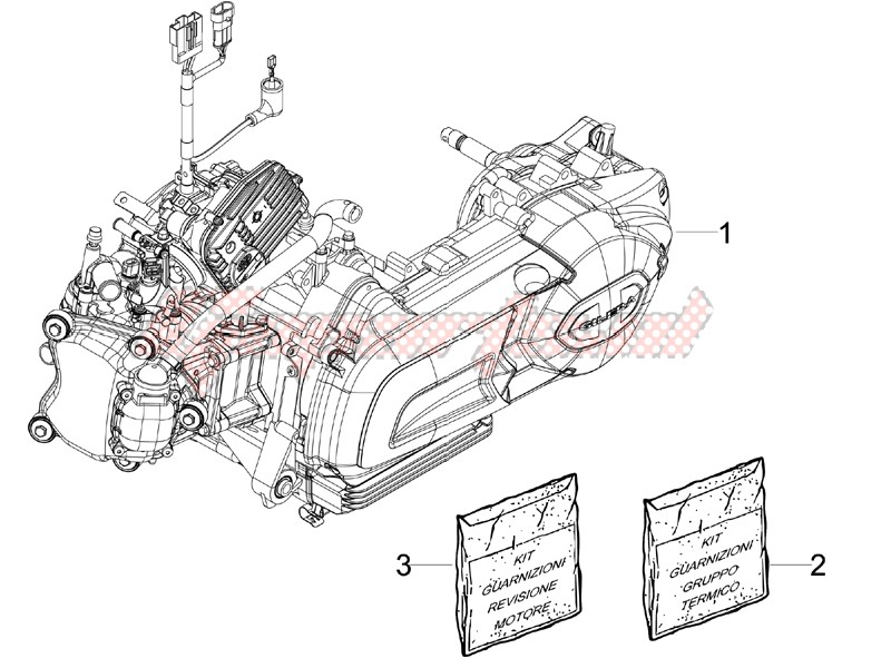 Engine assembly image