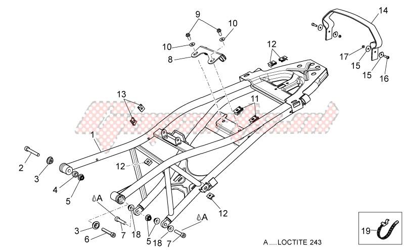 Saddle support image