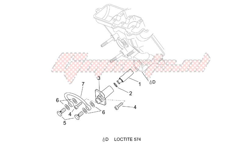 Chain tensioner image