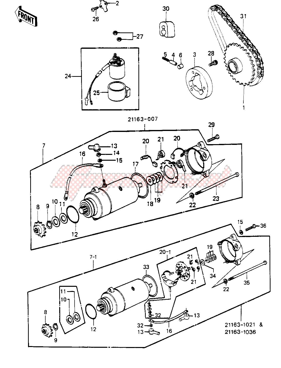 STARTER MOTOR_STARTER CLUTCH image