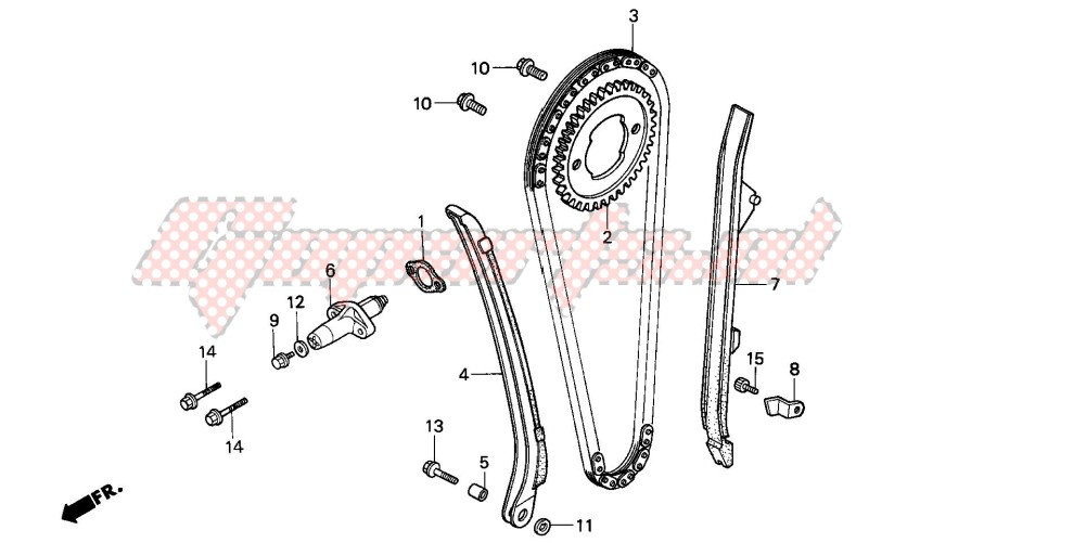 -CAM CHAIN/TENSIONER
