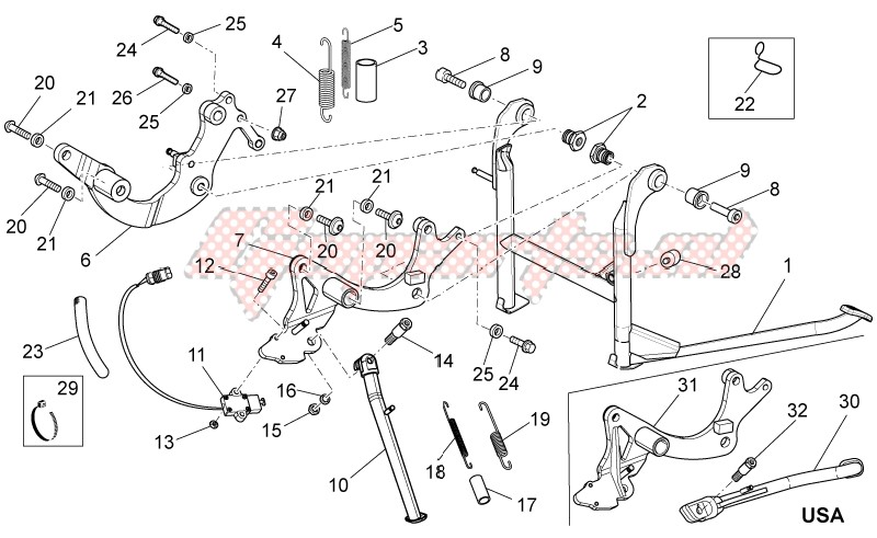 Einspritzventil Für MOTO GUZZI MC DUCATI MOTORCYCLES 1200 Griso Stelvio 05-13