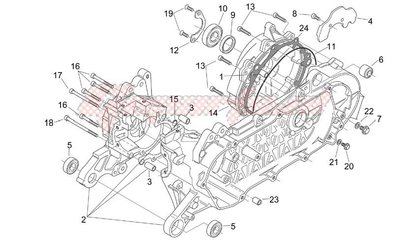 Crank-case (Ditech) image