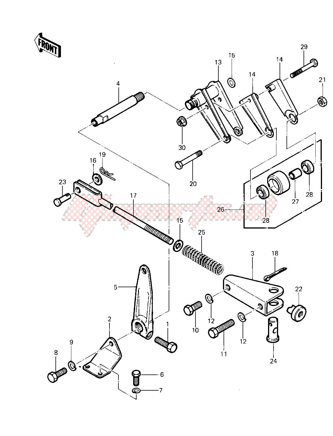 CHAIN TENSIONER -- 83 KLT200-A4_A4A- - image
