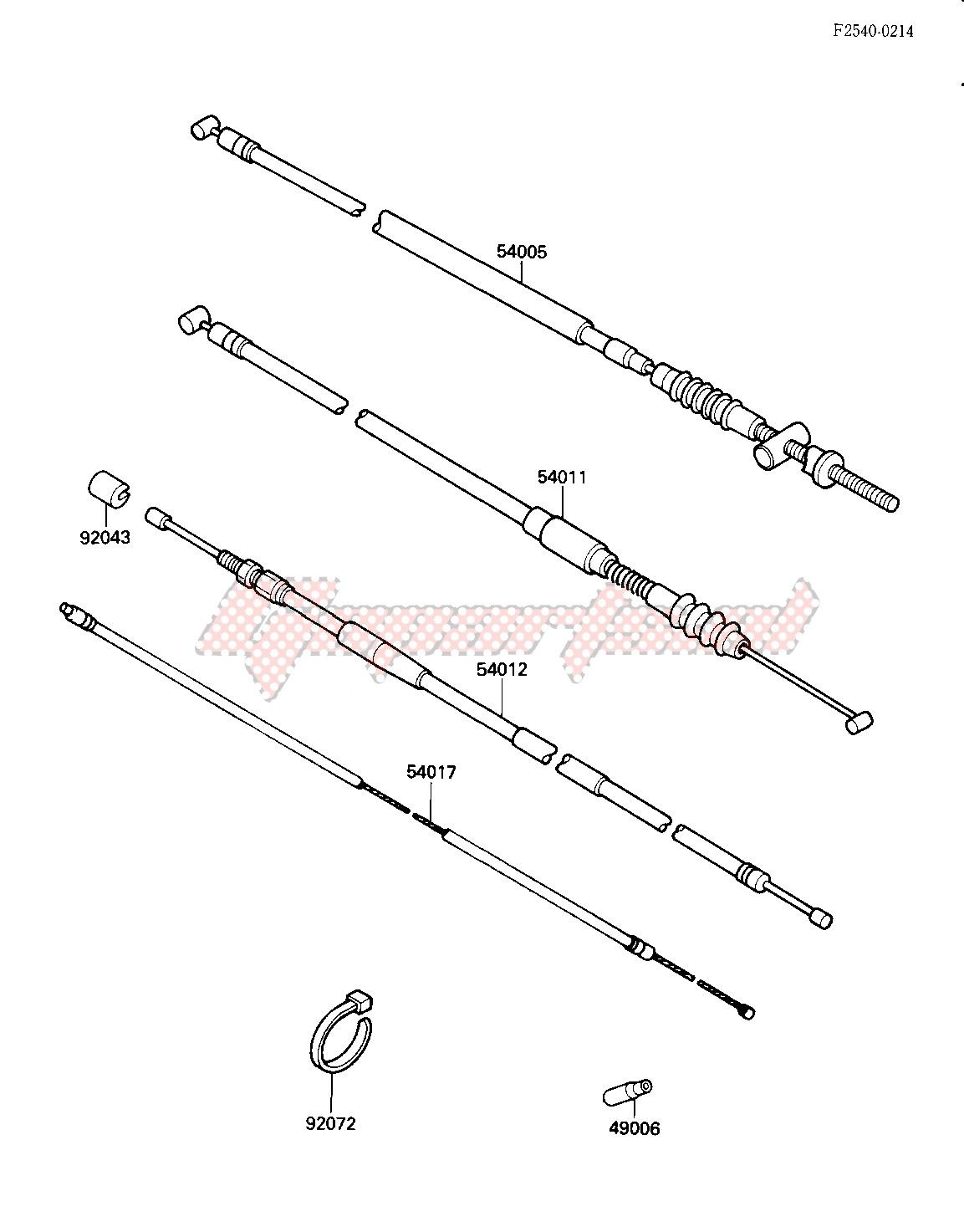 CABLES -- 84 KLT200-C2- - image