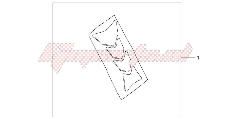 TANK PAD HRC LOGO blueprint