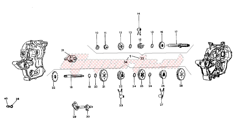 Transmission 5 gear model r image