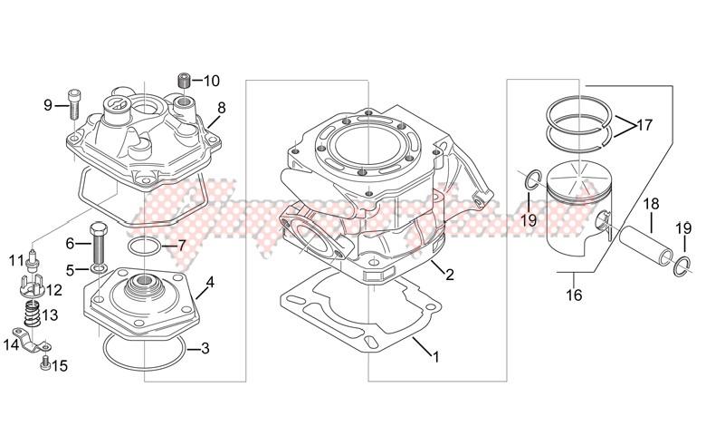 Cylinder - Head - Piston image