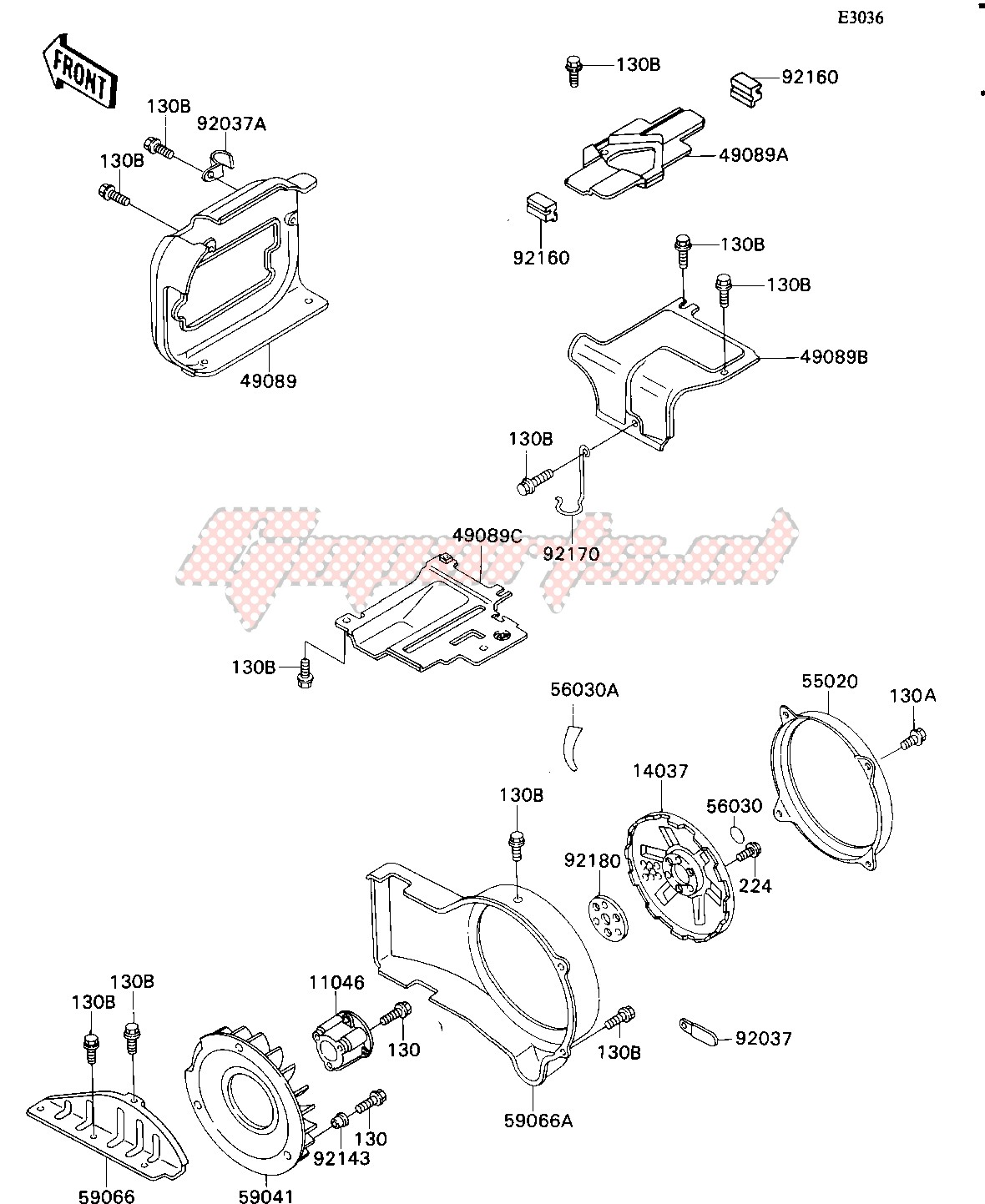 ENGINE SHROUD image