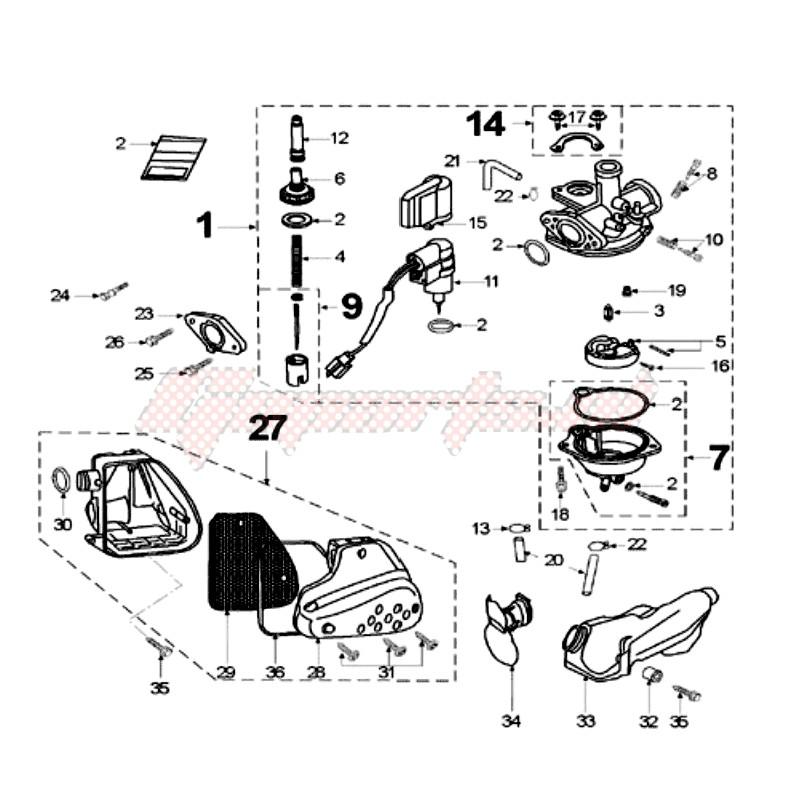 CARBURETTOR blueprint