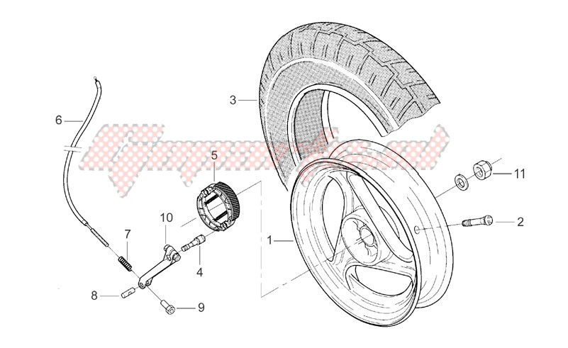Rear Wheel image