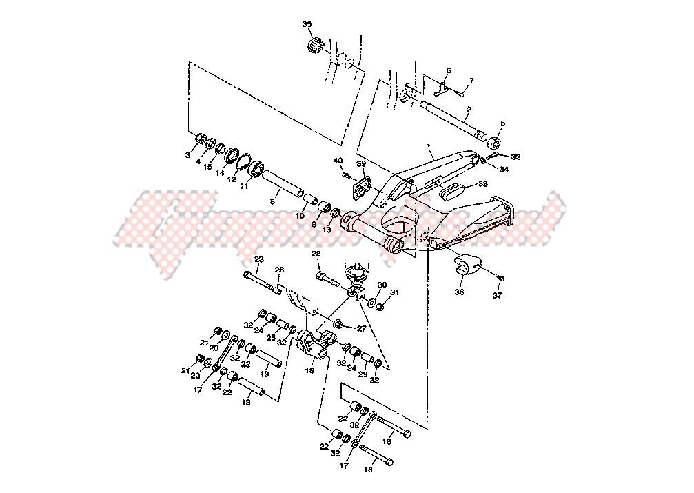 REAR ARM blueprint