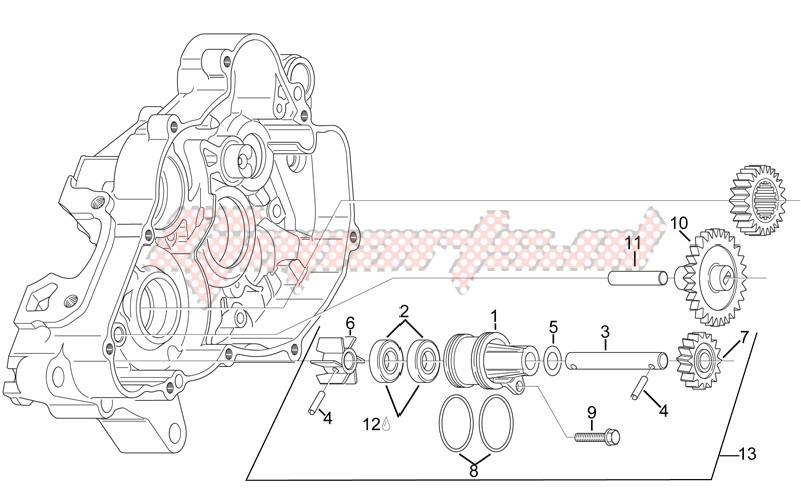 Water pump assy image