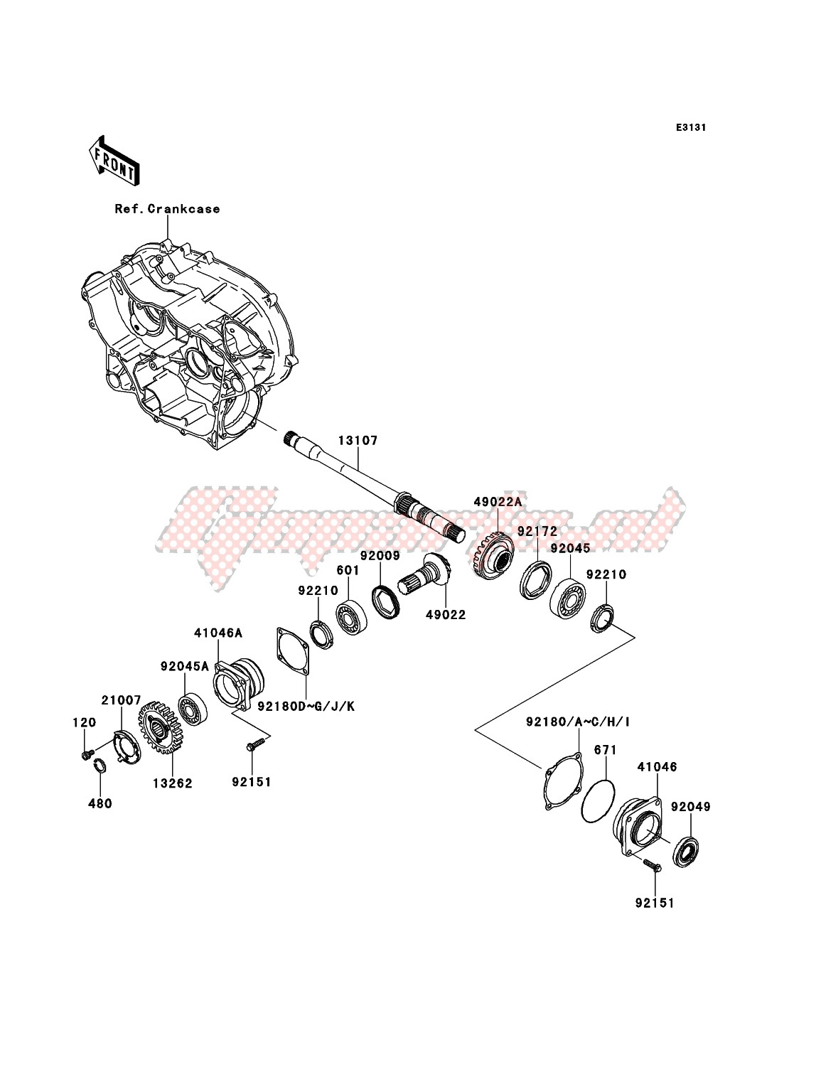 Front Bevel Gear image
