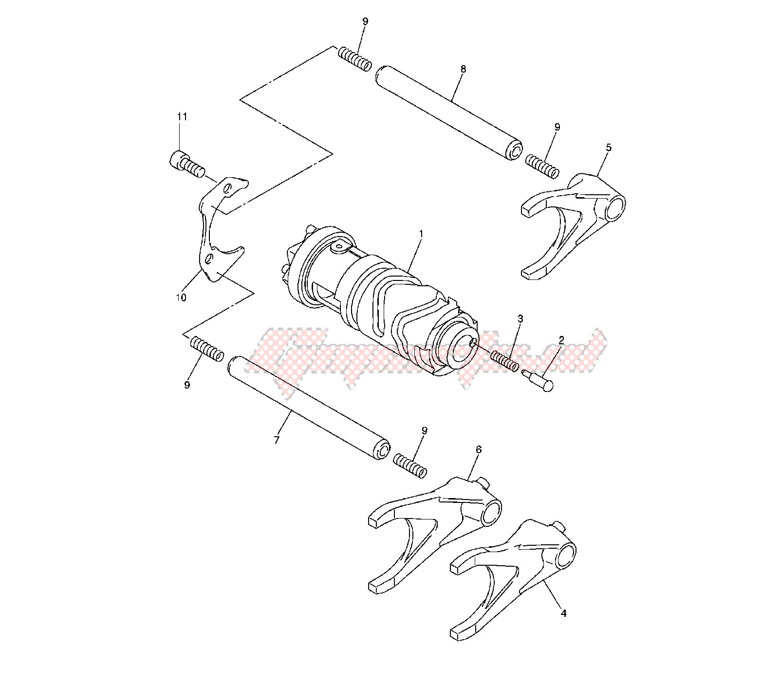 SHIFT CAM AND FORK image