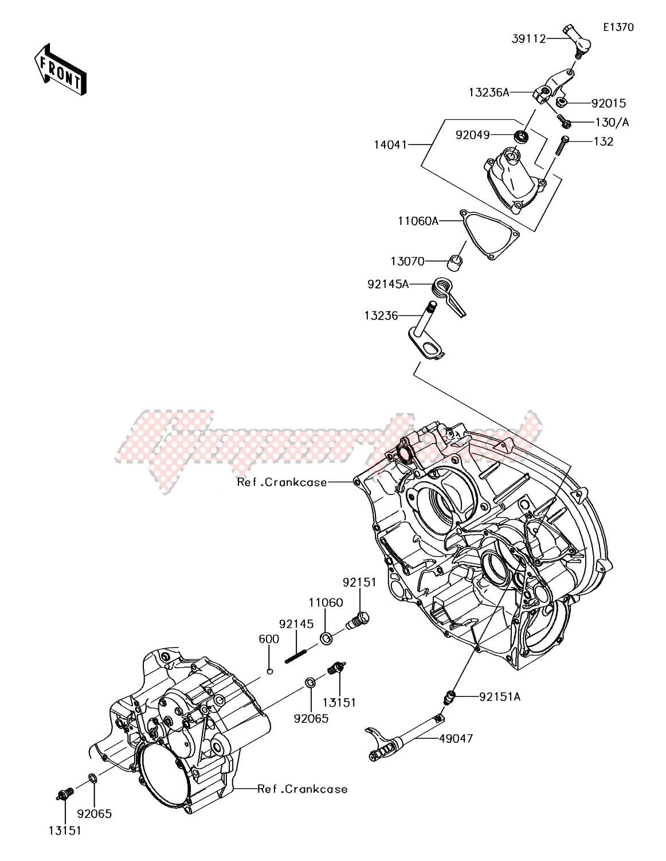 Gear Change Mechanism image