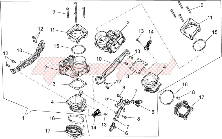 ENGINE-Throttle body