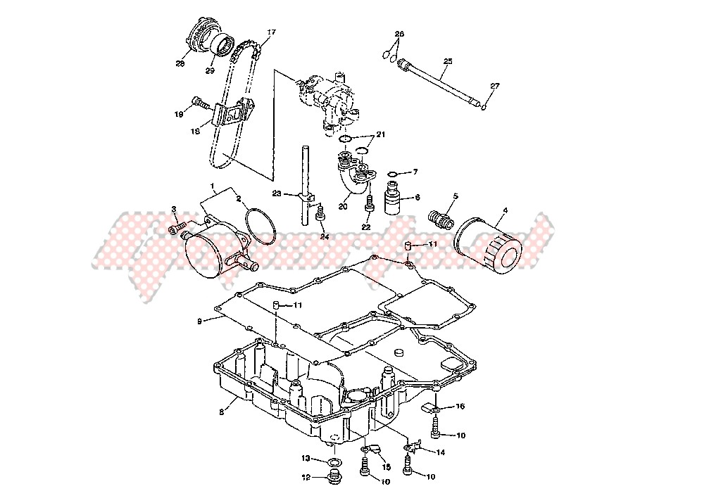 OIL PAN blueprint