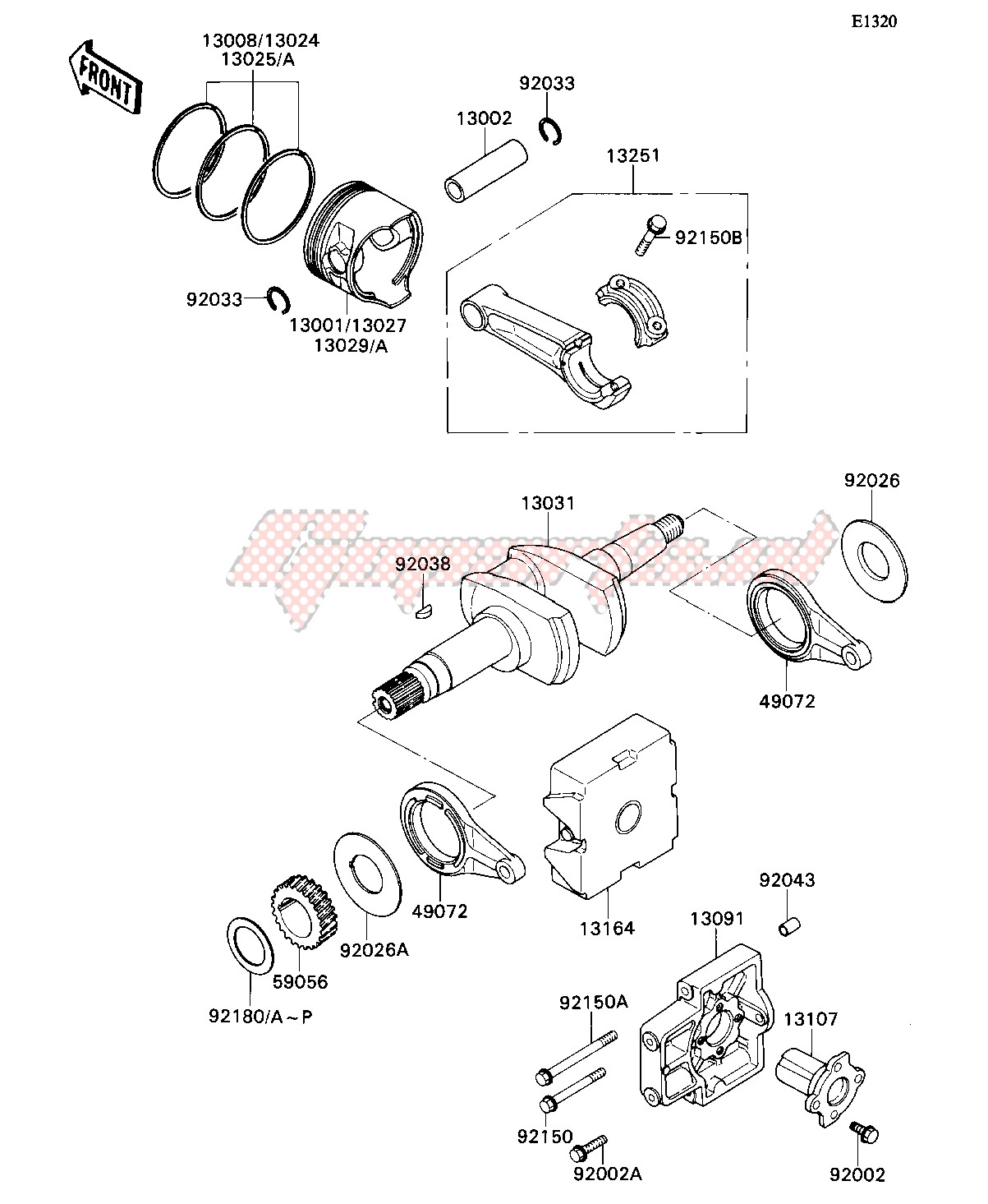 Engine-CRANKSHAFT_PISTON