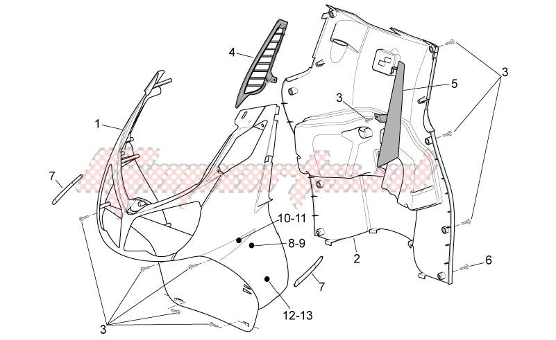 Front body - Internal shield image