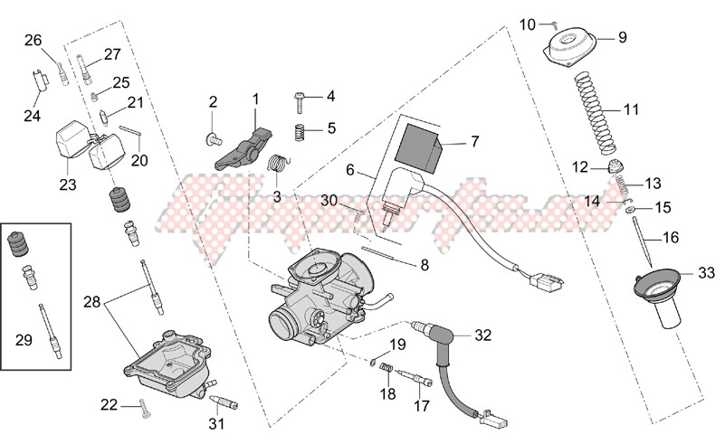 Engine-Carburettor - Components
