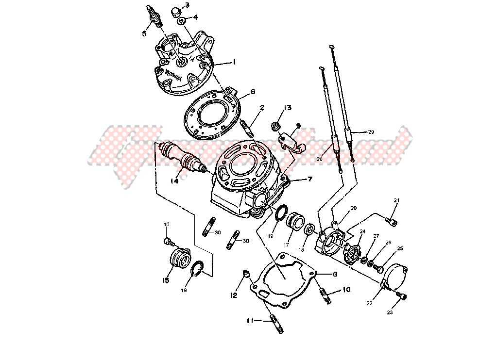 CYLINDER HEAD blueprint