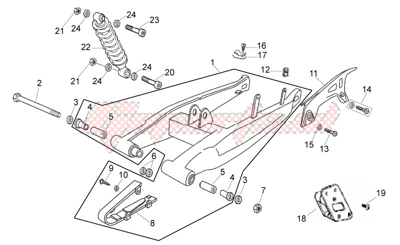 Frame-Swing arm