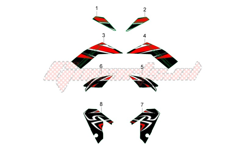 Central body Decals image