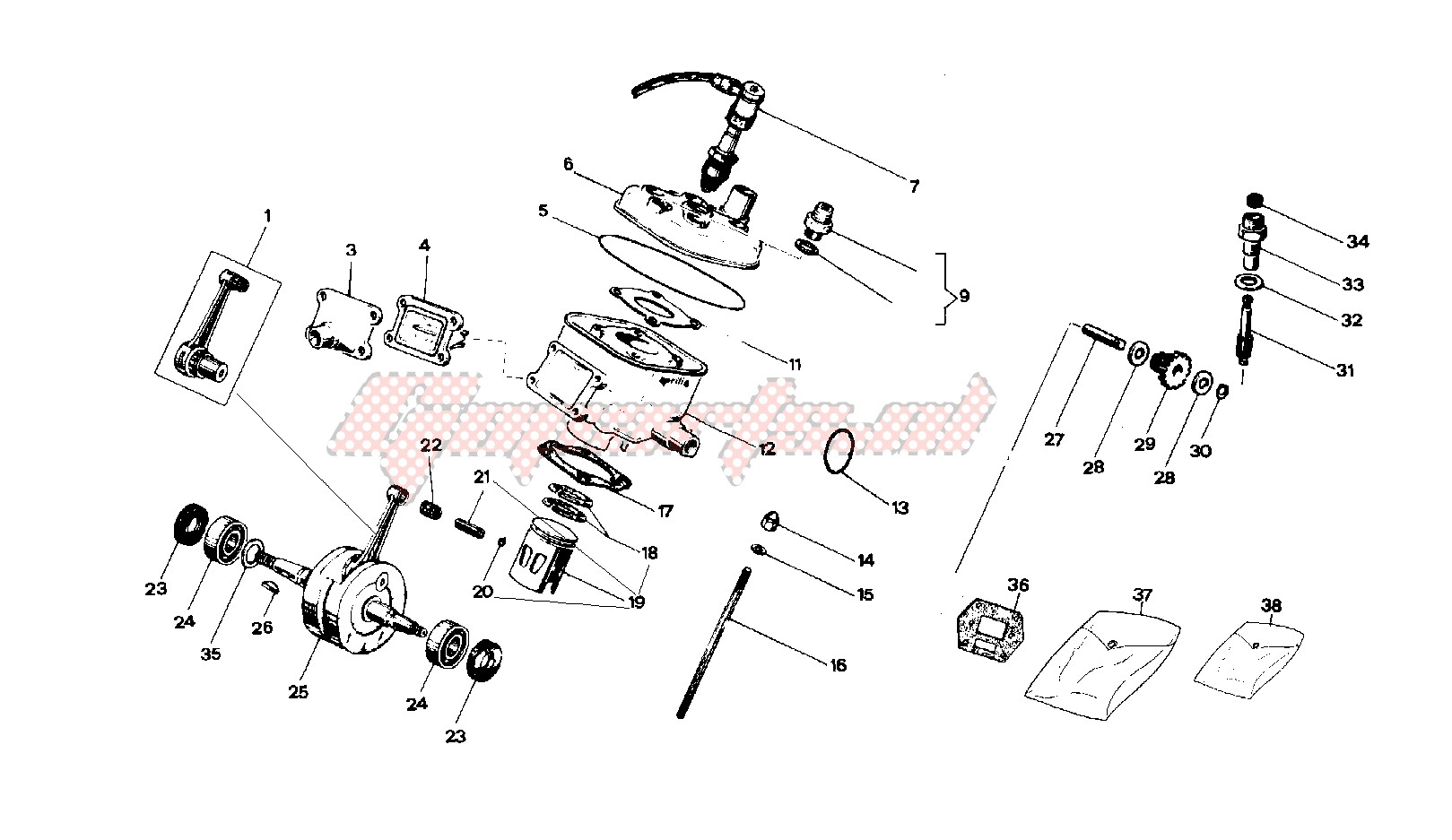 Engine-Crankshaft - cylinder