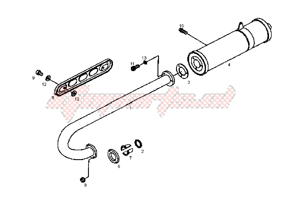 EXHAUST SYSTEM image