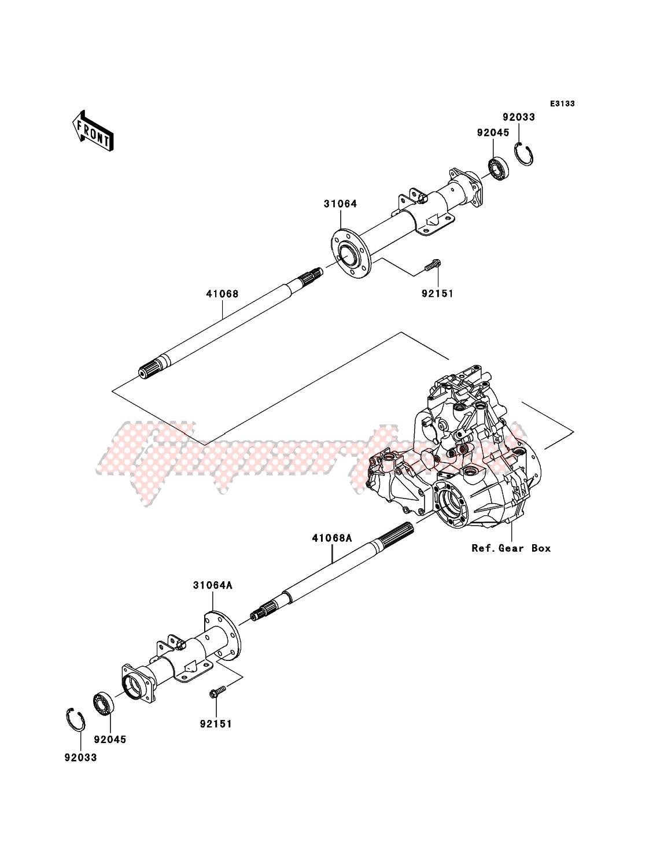 Rear Axle image
