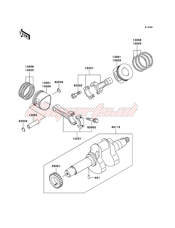 Crankshaft/Piston(s) image