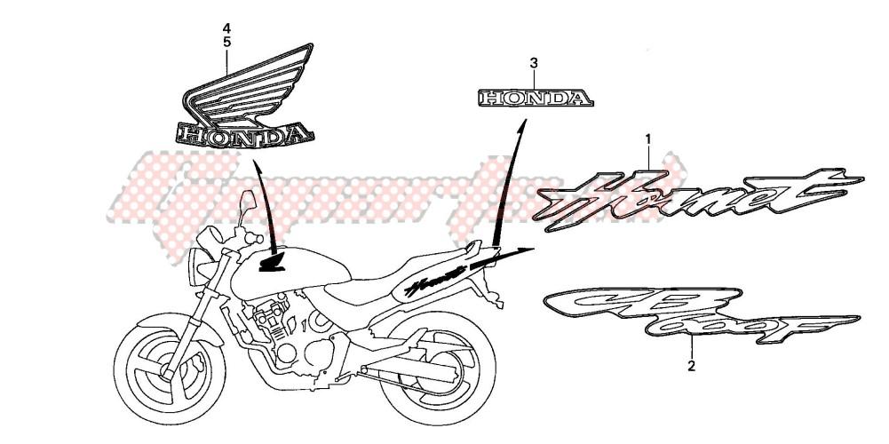 MARK (CB600F2) blueprint