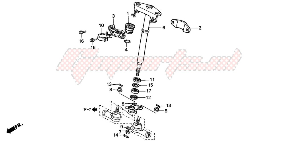 -STEERING SHAFT