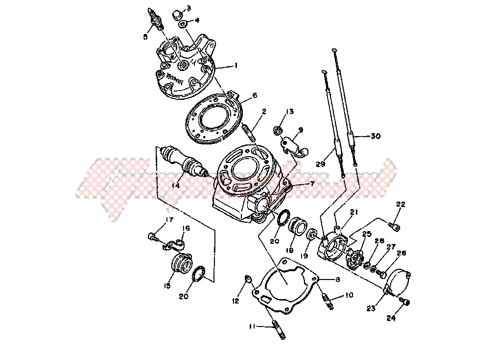 OEM parts Yamaha [Scooter] XQ MAXSTER 125 / 2002   Goparts