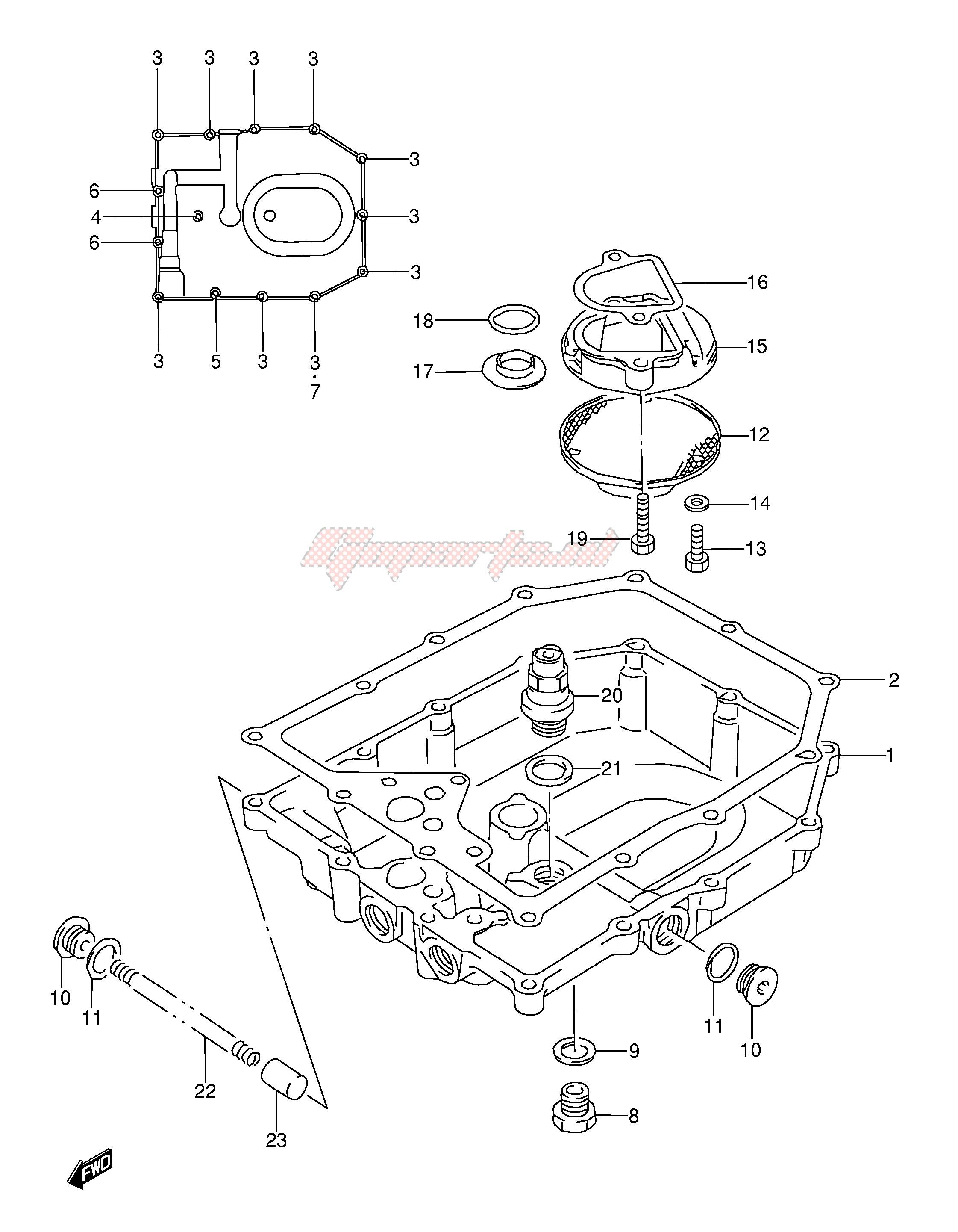 Suzuki 09280-18009 O Ring QTY 1