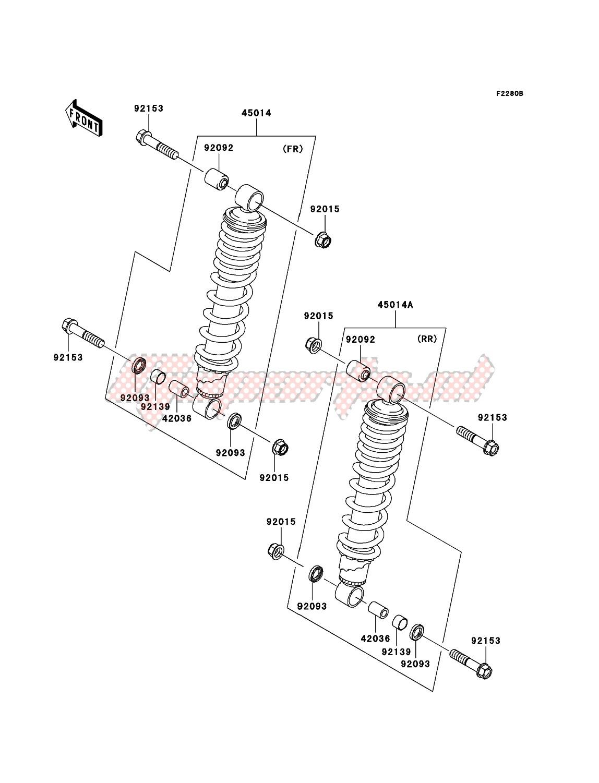 Shock Absorber(JKAVF750AAB601708-) image