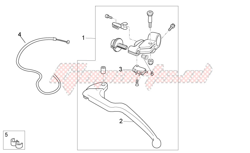 Clutch lever image