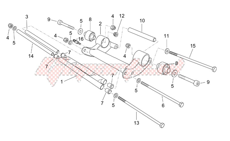 Frame-Crankshaft assy