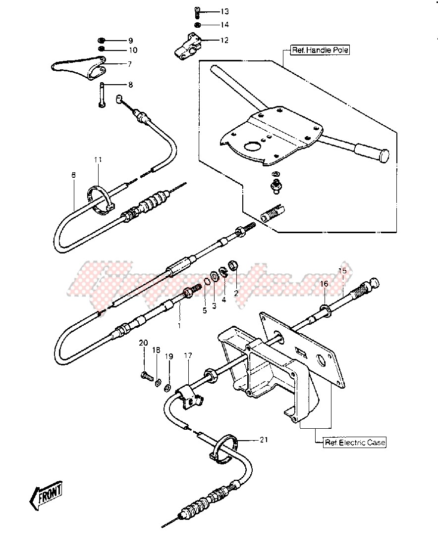 CABLES -- 84-86 JS440-A8_A9_A10- - image