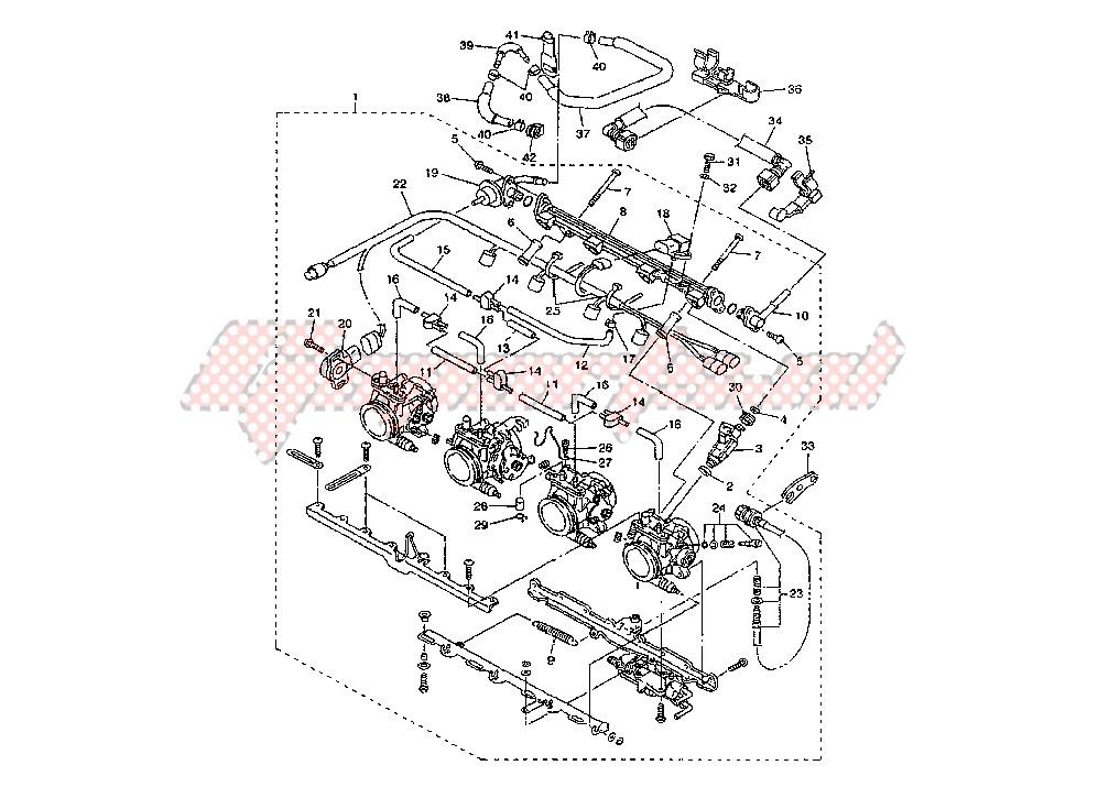 THROTTLE BODY MY04-05 blueprint