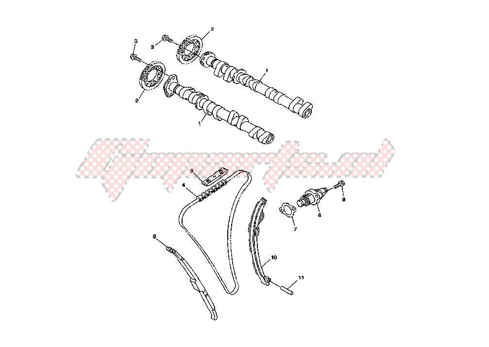 CAMSHAFT -CHAIN blueprint