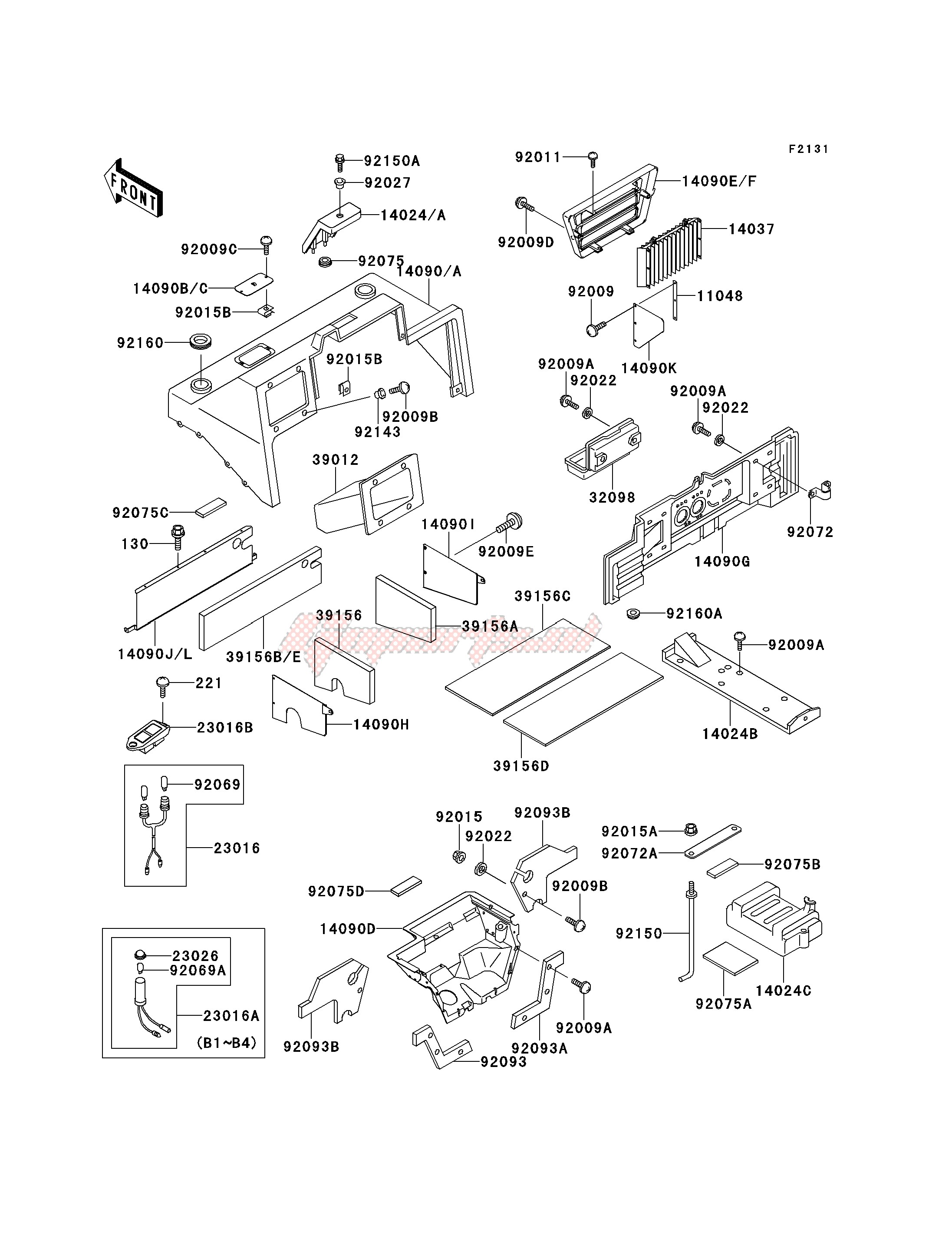 FRAME FITTINGS -- COVER- - image