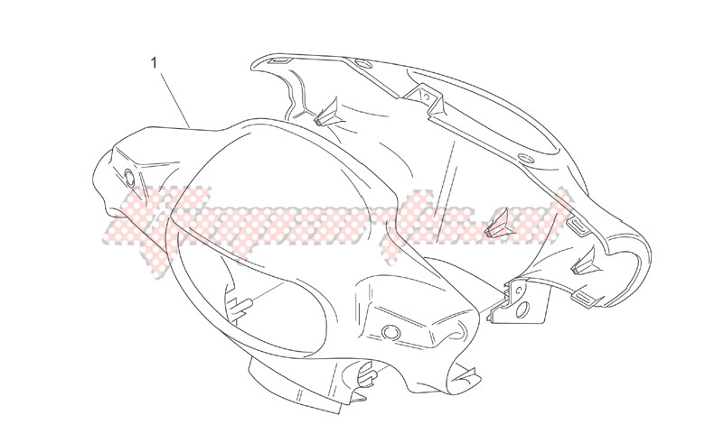 Frame-Front body I - Headlight support