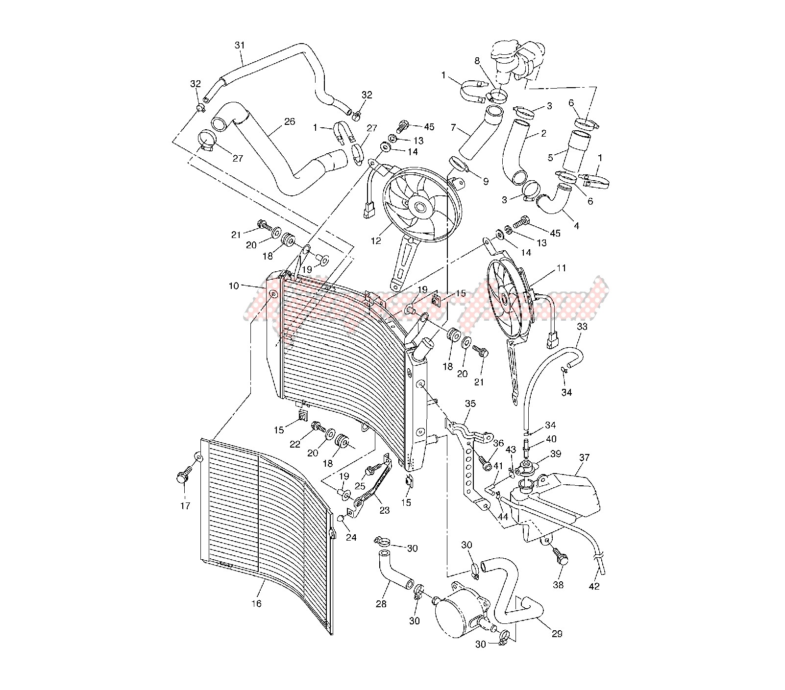 COOLING SYSTEM blueprint