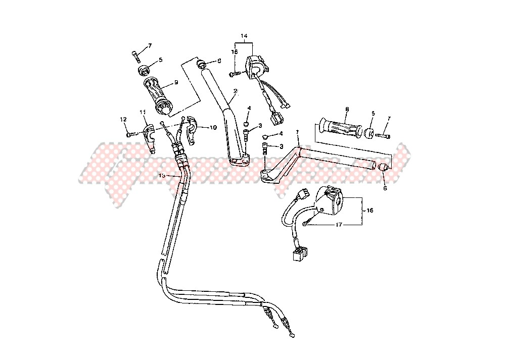 STEERING HANDLE – CABLE image