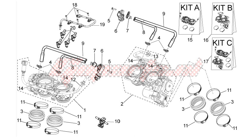FRAME-Throttle body